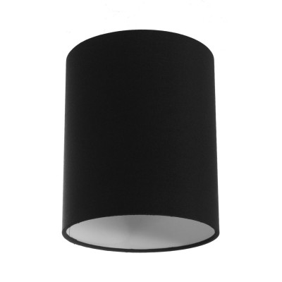 Cylinder fabric lampshade with E27 fitting - 100% Made in Italy