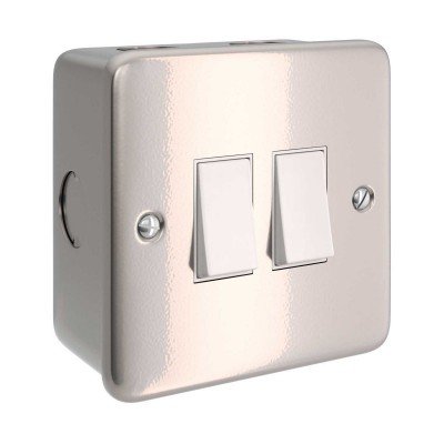 Metal clad box with double switch for Creative-Tube