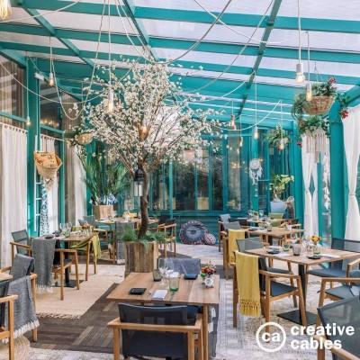 Be Creative #2 En vit Spider till en fransk restaurang