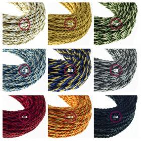 Nya tvinnade kablar i klassisk design och vår nya 1000fori-lampskärm: många nyheter hos Creative-Cables!
